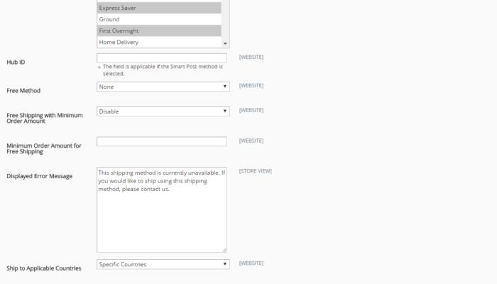 Fedex integration step III