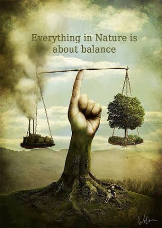 Everything in nature is about balance